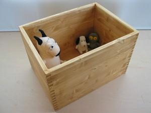 組手が美しい木製の箱 カスタムカラー例