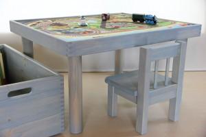 トーマス用プレイテーブル 組み合わせ使用例の拡大写真