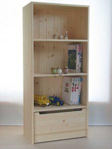 おもちゃ箱付き絵本棚22の拡大写真