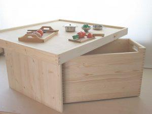 プレイテーブル3 おもちゃ箱側の拡大写真