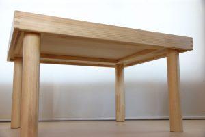 トーマス用プレイテーブル 裏面の拡大図