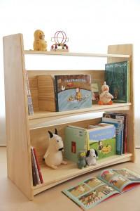 フリースタイル絵本棚の使用例