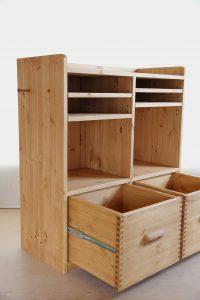 木製ランドセルラック14 商品構成の拡大写真