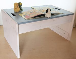 プレイテーブルのカラーリング例 白+アイス
