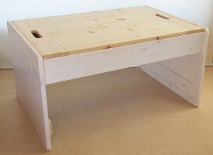 プレイテーブルのカラーリング例 白+クリアー
