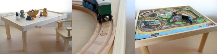 木製プレイテーブル(PT-001シリーズ)
